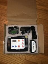 wiez intelligent 2-in-1 dog training and outdoor wireless fence system