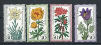 Allemagne - RFA N°716/19** (MNH) 1975 - Fleurs