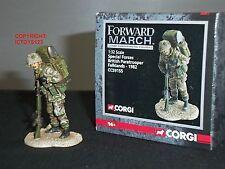 Corgi CC59155 avance fuerzas especiales paracaidista británico Guerra de las Malvinas