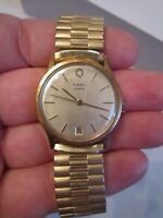 VINTAGE TIMEX QUARTZ WATCH - DAY - RUNS GREAT - TUB SC-6