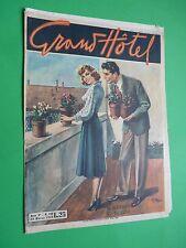 GRAND HOTEL rivista 1950 196  Si riadorna il balcone - Amore fra due spade