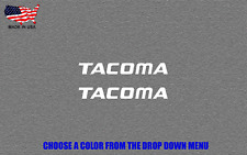 TOYOTA TACOMA Vinyl Decal Sticker 2X Emblem Logo Graphic Stickers
