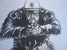 Paul Conrad Drawn and Quartered Author Artist Signed Political Editorial 1985