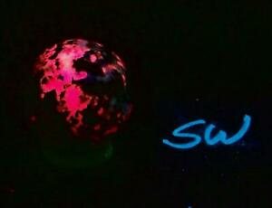 Fluorescent Tugtupite 32mm Sphere for Collection 4772