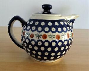 Original Bunzlauer Keramik Teekanne 1.0L H9 / Kaffeekanne