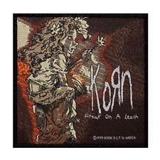 """Korn: Freak on a Leash"" Single Song Art Nu Metal Music Sew On Applique Patch"