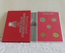 SUDAN 1980 5 COIN PROOF SET - unopened/outer