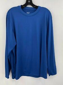 Patagonia Capilene XL Shirt Mens Blue Long Sleeve Crewneck Base Layer Slim B6-11