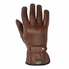 Clearance | SPADA Freeride Breeze CE Motorcycle Leather Gloves Brown XXL