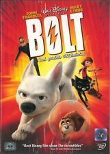 Bolt - DVD REGION 3,4 - John Travolta, Miley Cyrus, Disney Family Cartoon