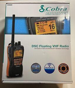 Cobra Marine DSC Floating VHF Radio w/Built-In GPS and Bluetooth Wireless *NIB*