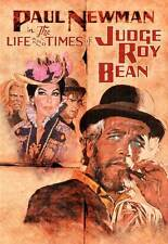 THE LIFE AND TIMES OF JUDGE ROY BEAN Movie POSTER 27x40 B Paul Newman Stacy