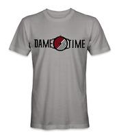 Damian Lillard Portland Trail Blazers basketball player dame time t-shirt