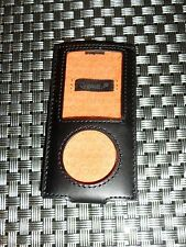 Cygnett Black leather case for iPod Nano 4th Gen UK