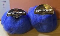 Knitting Yarn-Tawny-Bewitched-Royal Blue-78% Mohair-100g-spinning-felting-F4