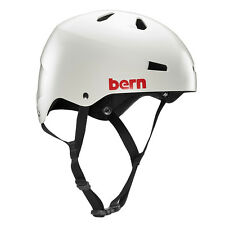Bern Macon Mens EPS Bike Cycle Helmet Thin Shell  L-XL Satin Grey