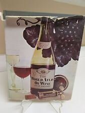 The World Atlas of Wine by Hugh Johnson 4th Printing Hardcover with Dust Jacket