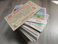 PANINI FOOTBALL 77 - 1977 - Vente à l'unité  de stikers originaux  neufs