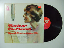 Marlene VerPlanck ‎– You'd Better Love - Disco Vinile 33 Giri LP Album USA 1977
