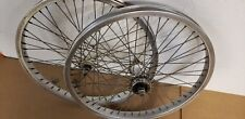 Old Bmx 48 Spoked Aluminum Speedline Wheels Freestyle bike Rims haro fsx gt cw z