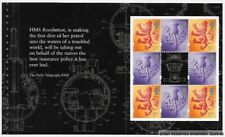 "Gb 2001 Dx27 ""Submarines"" Prestige Booklet Pane (4), S95l/Xps2. Mnh"