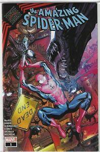 Marvel Comics Amazing Spider-Man: King in Black #1 Walmart Variant Cover