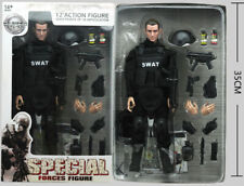 """12"""" 1/6 Toy Police SWAT Action Figure Soldier Dolls Military Combat Suit Box"""
