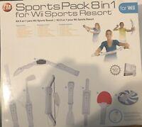 CTA Digital 8-in-1 Sports Pack (WI8SR) Sports Controllers Bundle