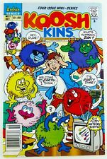 Archie Comics KOOSH KINS (1991) #1 NEWSSTAND 1st APP VF Ships Free!