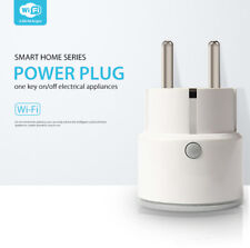 WIFI Smart Power Wireless Switch Socket Timer EU Plug For Alexa & Google home