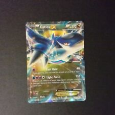 Latios EX 58/108 ROARING SKIES Pokemon Card Holo Rare 070618 - LP
