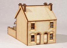 HS001 Victorian Double Terraced Houses OO Gauge Laser Cut Kit