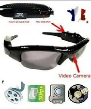 LUNETTES SPORT HD CAMERA-MINI DV-CAMERA ESPION (VIDEO, AUDIO, PHOTO) MICRO SD