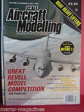 SCALE AIRCRAFT MODELLING SAM JULY 1996 USAF HEAVY LIFTERS F27 FRIENDSHIP HURRICA