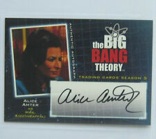 the big bang theory season 5 autograph card