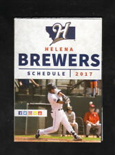 Helena Brewers--2017 Pocket Schedule--Hunter Douglas Gallery