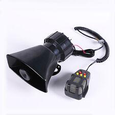 12V 100W Car Truck Alarm Police Fire Loud Speaker PA Siren Horn MIC System Kit