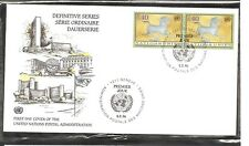 United Nations Geneva # 278 The Galloping Horse FDC . UNPA