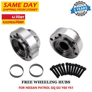 For Nissan Patrol GU GQ Ford Maverick 2X Free Wheeling Manual Locking Hubs