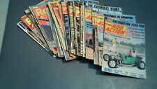 "HOT ROD MAGAZINES, ""ROD ACTION""  36 Vintage Issues, 1972-1977"