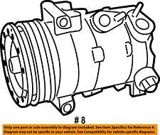 Dodge CHRYSLER OEM 09-10 Journey-A/c Compressor 55111425AC