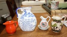 Lot Of 4 Collectible Pitchers