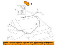 86077-53010-A0 Toyota Cover kit, antenna 8607753010A0