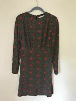 And Other Stories Star Print Dress 36 Uk 8-10