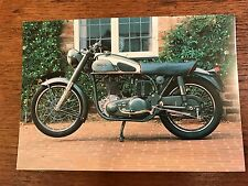 Vintage 1953 Norton International 350cc National Motorcycle Museum Postcard (B)