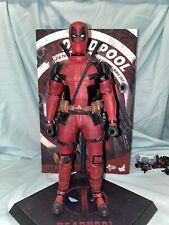 Preowned Hot Toys Deadpool Wade Wilson 12 inch Action Figure - MMS347