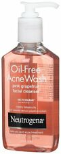 Neutrogena Oil-Free Acne Wash-Pink GrapeFruit Facial Cleanser 6oz