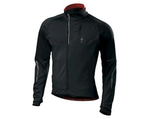 Specialized Men's Small Element 1.5 Windstopper Cycling Jacket Black