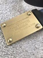 Louis Vuitton Men leather belt 100% authentic ultra rare