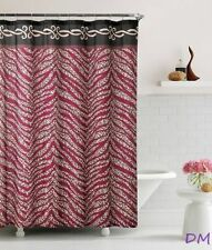 Animal Print Fabric Shower Curtains
